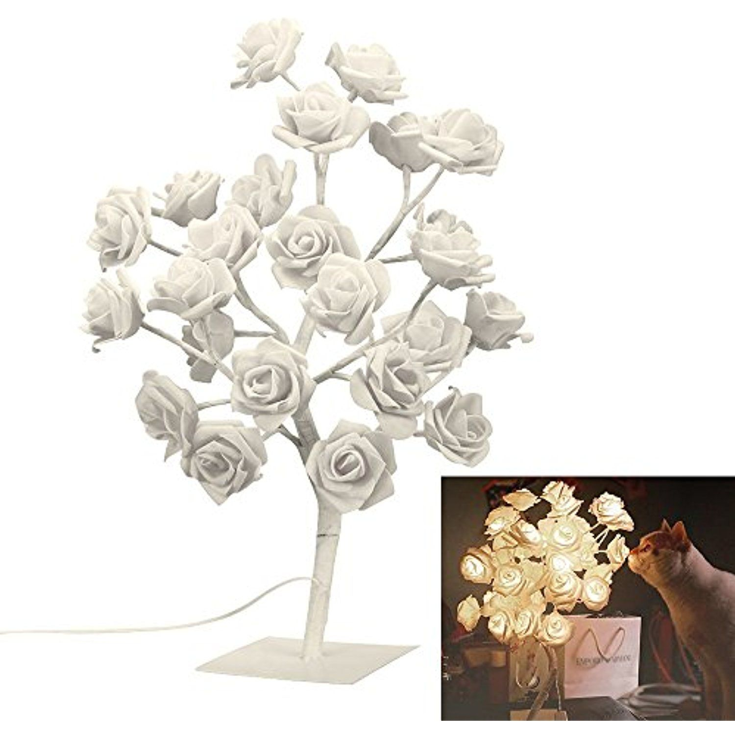 Rose Tree Table Lamp